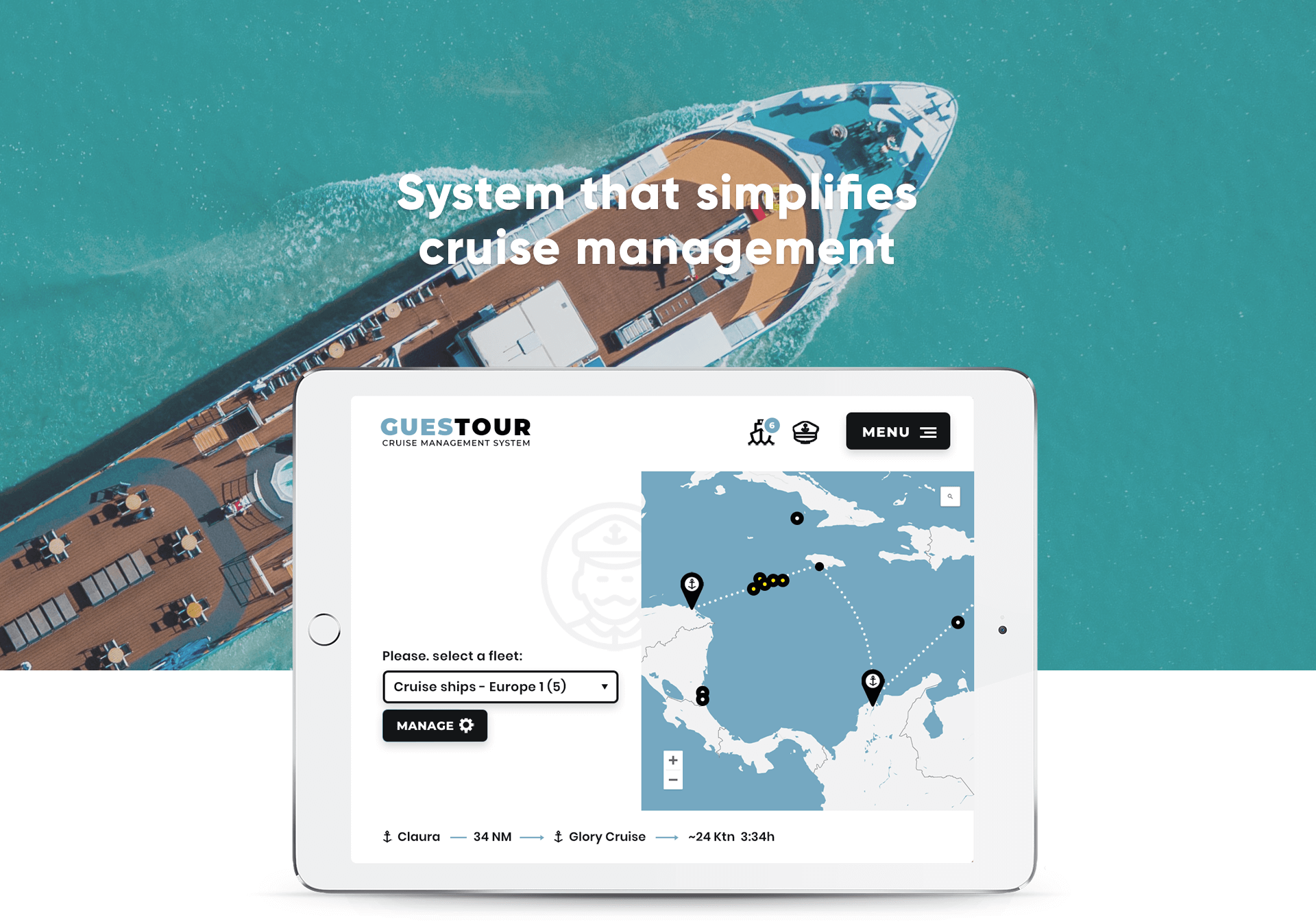 System that simplifies cruise management