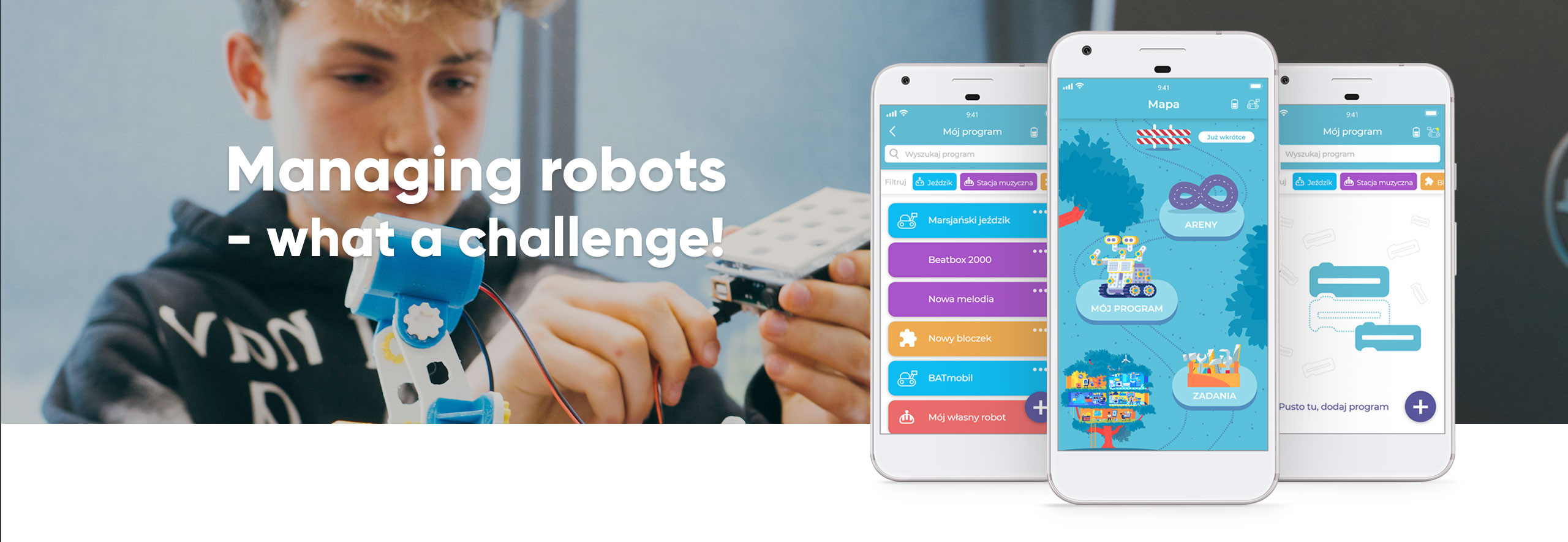 Managing robots - what a challenge!