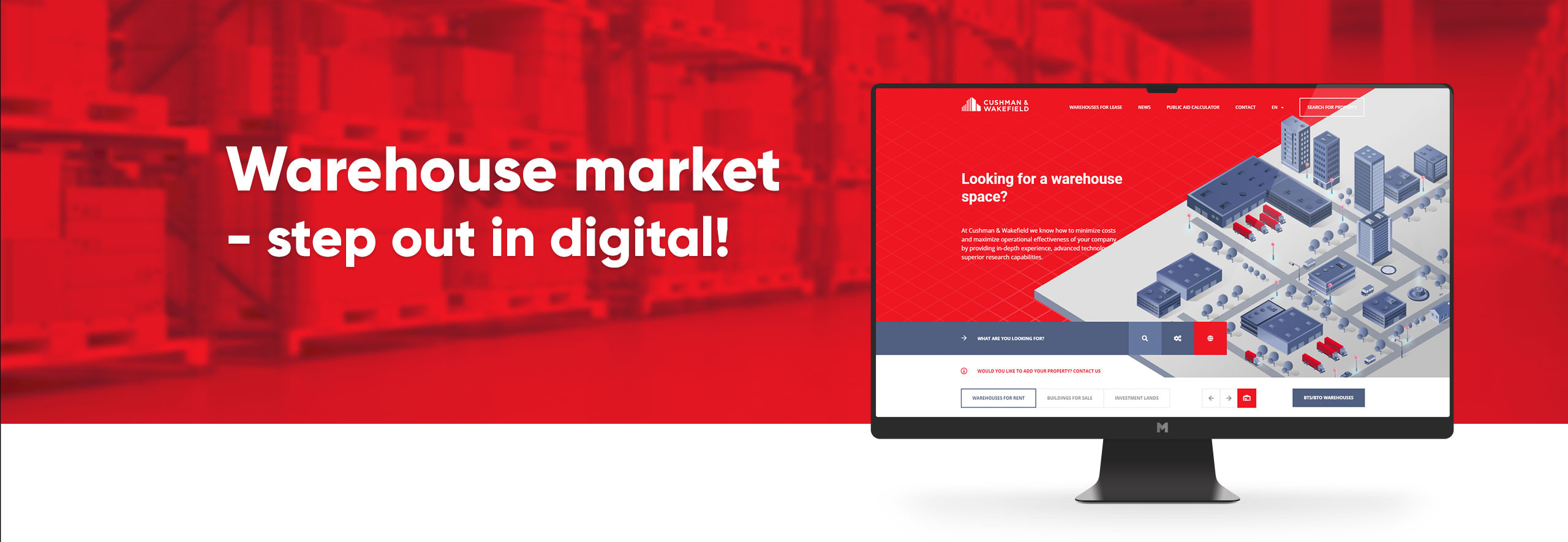 Warehouse market - step out in digital!